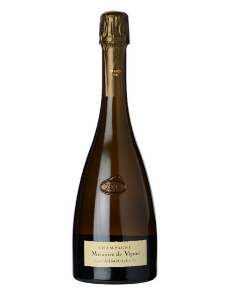 """Sparkling Wine Michel Arnould & Fils Champagne """"Memoires de Vignes"""" Blanc de Noir Grand Cru Brut 2006 750ml"""