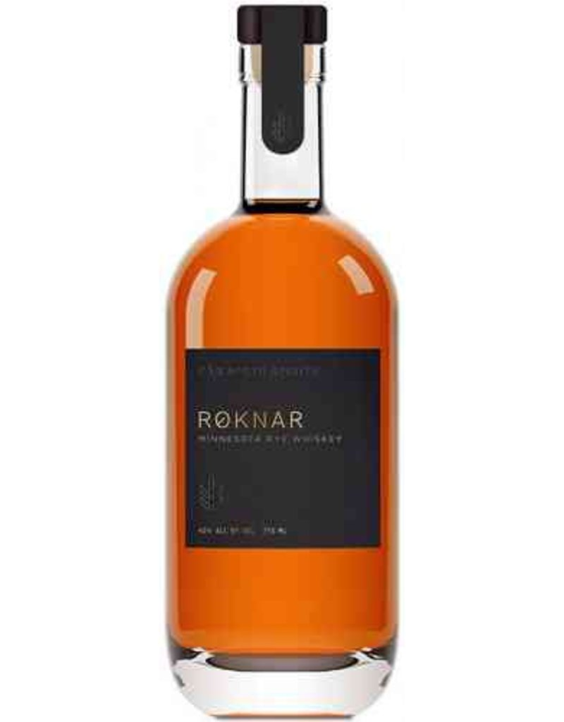 """Rye Whiskey Far North Spirits """"Roknar"""" Rye Whiskey 750ml"""