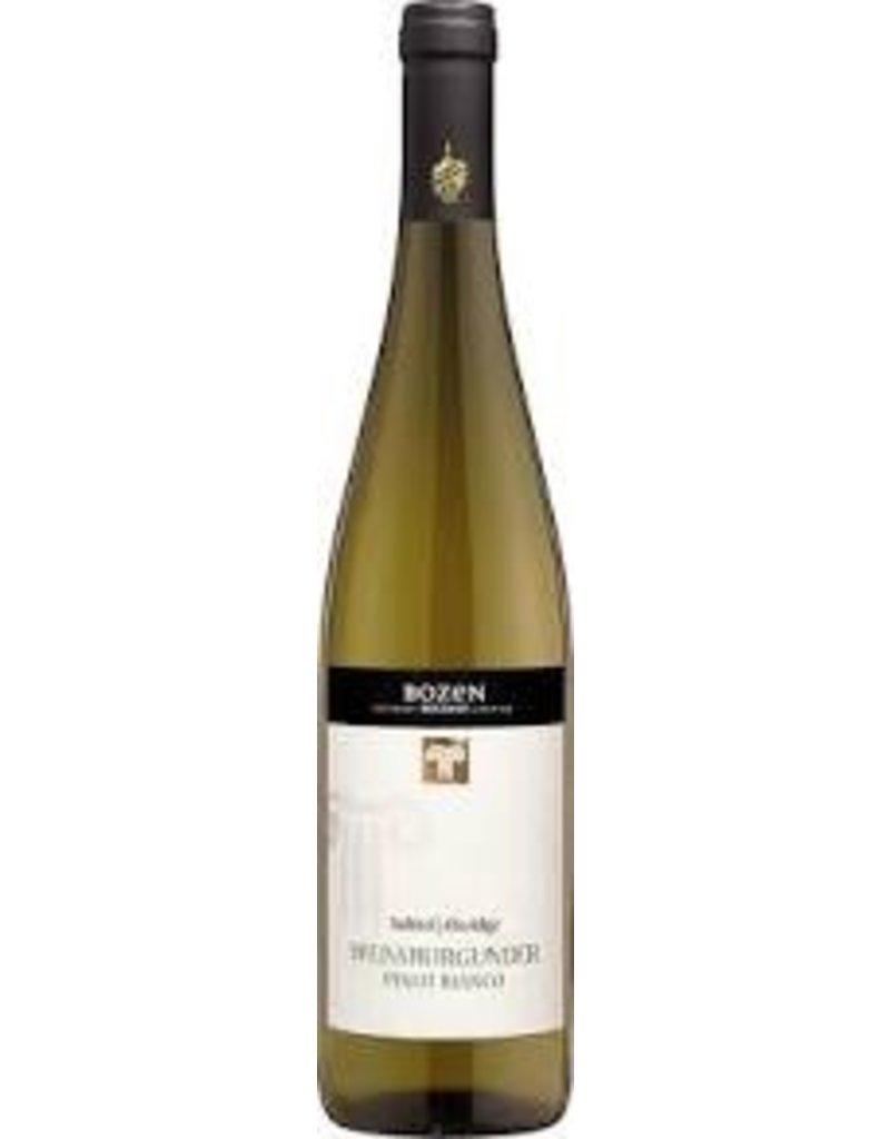 """Italian Wine Bolzano Pinot Bianco """"Bozen"""" Weissburgunder 2015 Alto Adige 750ml"""