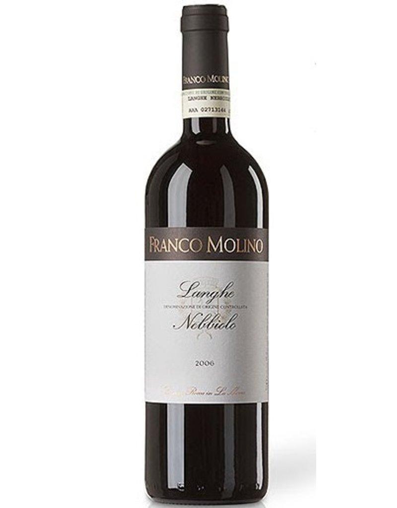 Italian Wine Franco Molino Langhe Nebbiolo 2013 750ml