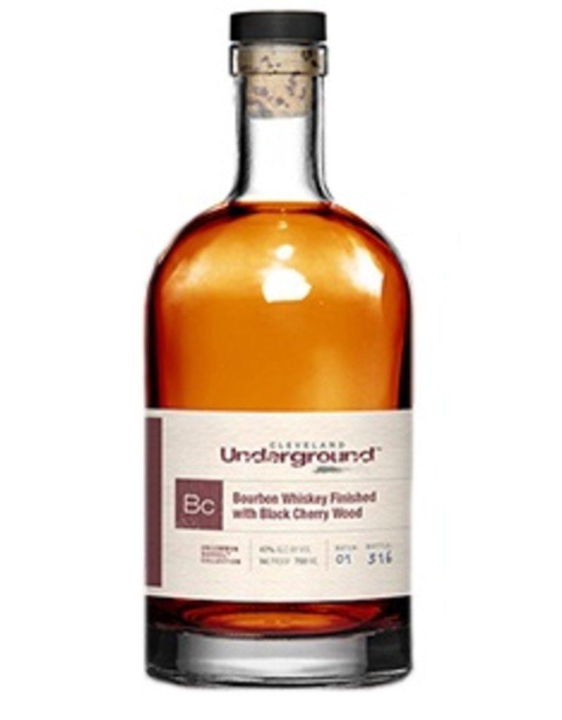 Bourbon Cleveland Underground Bourbon Whiskey Finished with Cherry Wood Batch 2 750ml