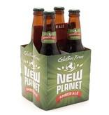 Beer New Planet Amber 4pack Bottles