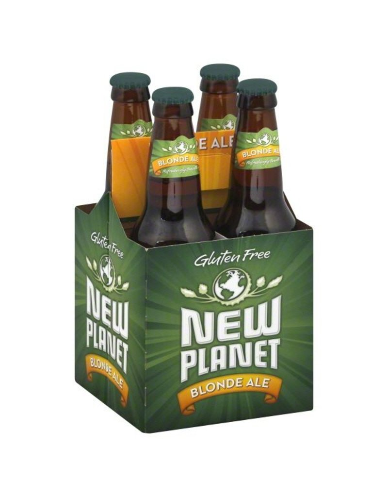 Beer New Planet Blonde 4pack Bottles