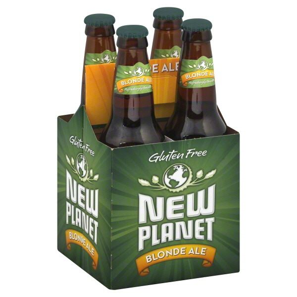 Beer New Planet Blonde 4pack Bottles
