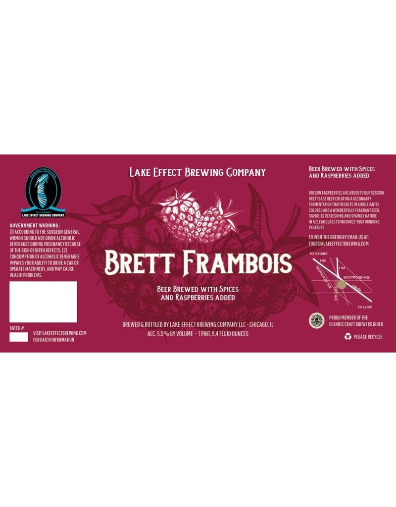 Beer Lake Effect Brett Frambois 750ml