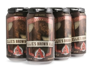 Beer Avery Brewing Co. Ellie's Brown 6pack Cans