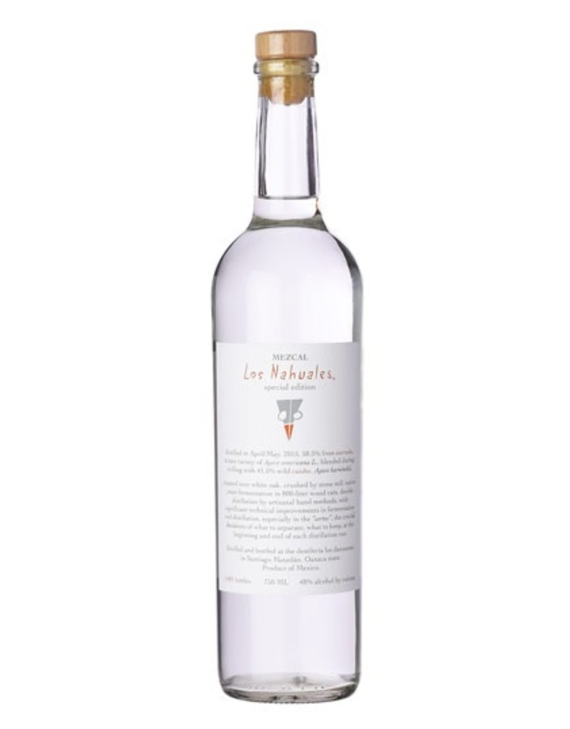 """Tequila/Mezcal Los Nahuales """"Special Edition"""" Mecal 750ml"""