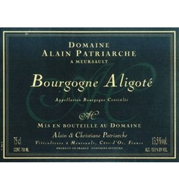 French Wine Alain Patriarche Bourgogne Aligote 2014 750ml