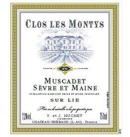 """French Wine Jeremie Huchet Muscadet Sevre et Maine Sur Lie """"Clos les Monty"""" 2015 750ml"""