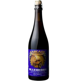 Beer Cascade Brewing Blueberry Ale Northwest Style Sour Ale 750ml