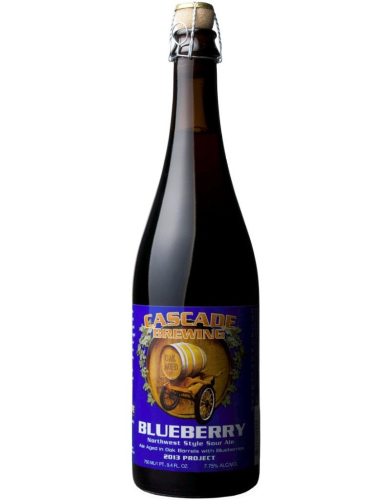 Beer Cascade Brewing Blueberry Northwest Sour Ale 750ml