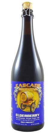 Beer Cascade Brewing Elderberry Northwest Sour Ale 750ml