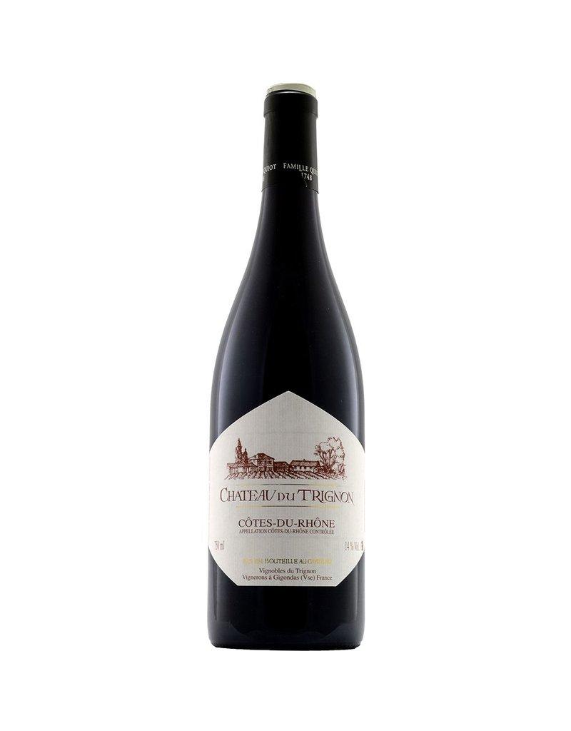 French Wine Chateau du Trignon Cotes du Rhone Rouge 750ml