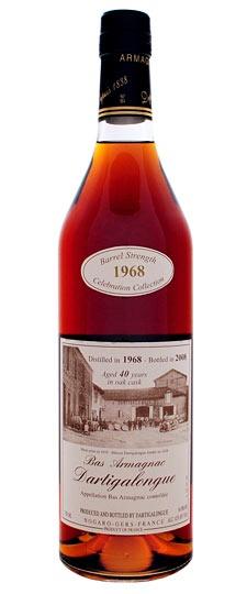 Brandy Dartigalongue 40 Year 1968 Bas Armagnac, bottled in 2009 750ml