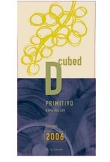 American Wine D Cubed Napa Valley Primitivo 2008 750ml