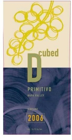 American Wine D Cubed Napa Valley Primitivo 2008 750ml