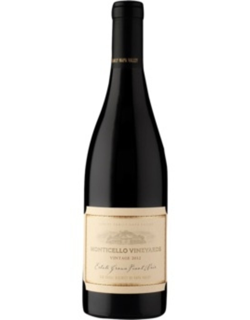 "American Wine Monticello Vineyards Estate Grown Pinot Noir ""Oak Knoll District"" Napa Valley 2010 750ml"