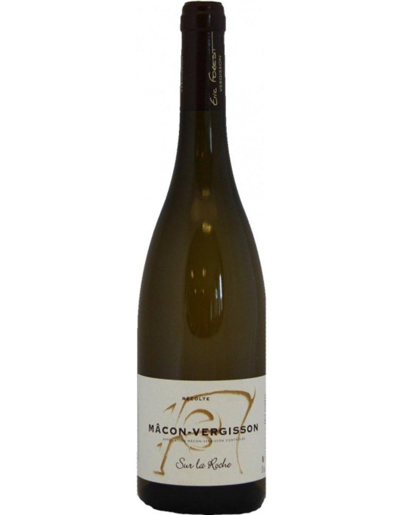 """French Wine Eric Forest Macon-Vergisson """"Sur La Roche"""" 2014 750ml"""