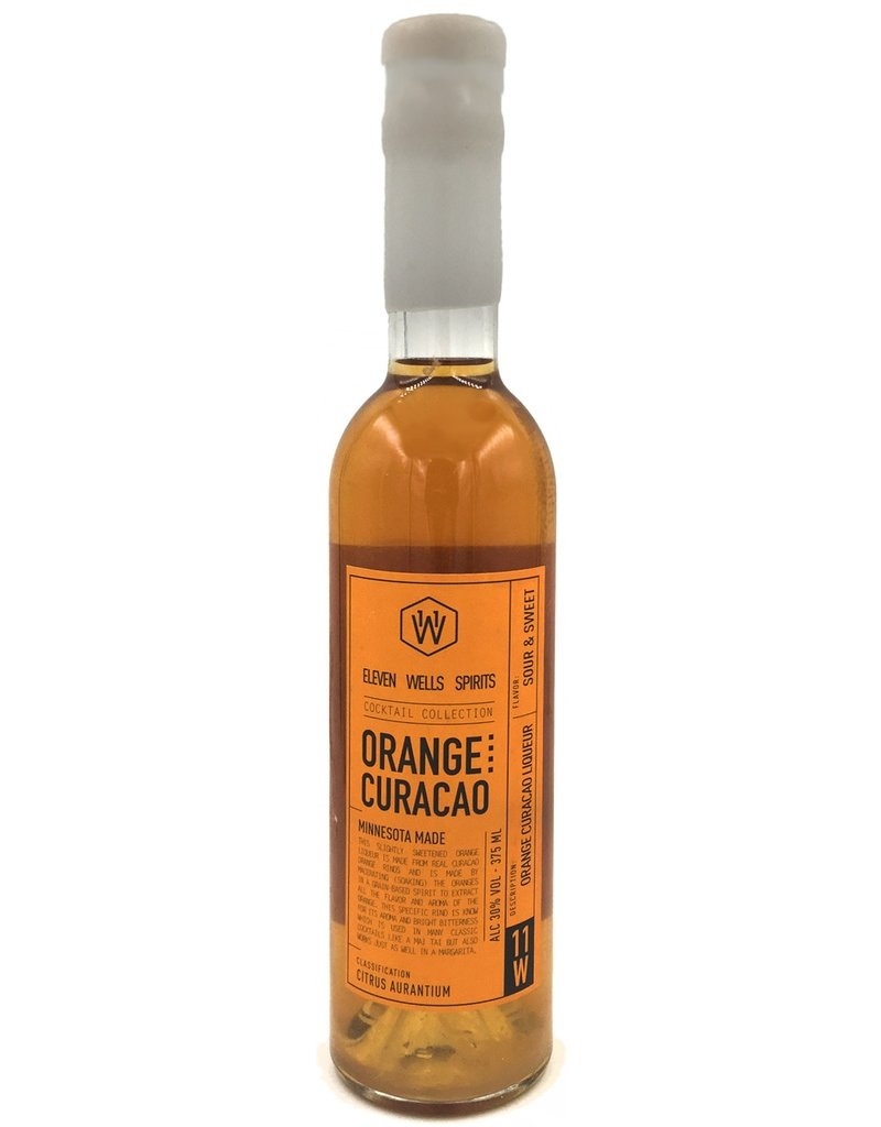 Liqueur 11 Wells Orange Curacao 375ml