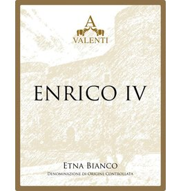 Italian Wine Valenti Enrico IV Etna Bianco 2014 750ml