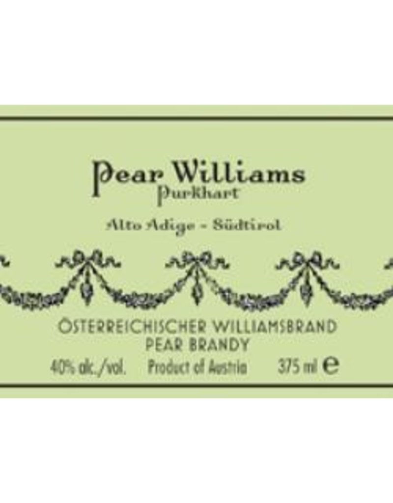Brandy Purkhart Pear Williams Brandy Austria 750ml
