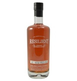 Bourbon Resilient Straight Bourbon Whisky Barrel #004 10 Year Distilled 05/2006, bottled 11/2016 750ml