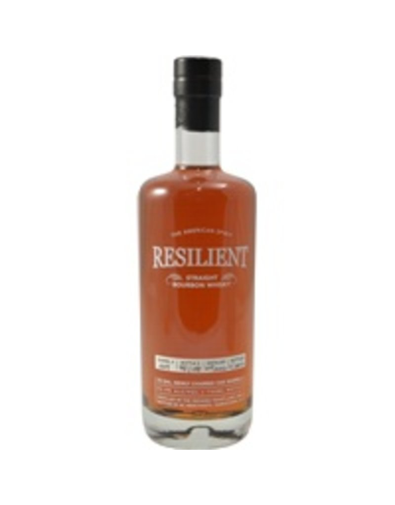 Bourbon Resilient Straight Bourbon Whisky Barrel #010 10 Year Distilled 05/2006, bottled 11/2016 750ml