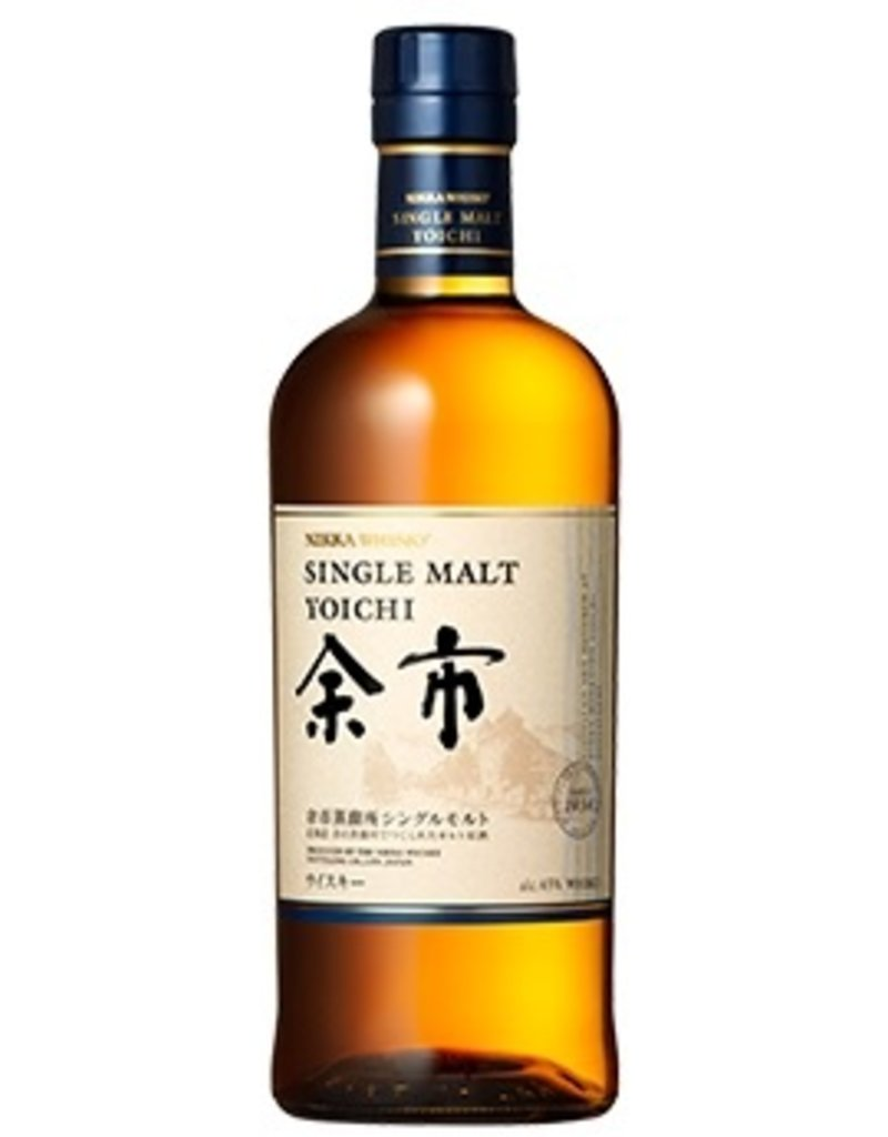 Asian Whiskey Nikka Yoichi Single Malt Whisky 750ml