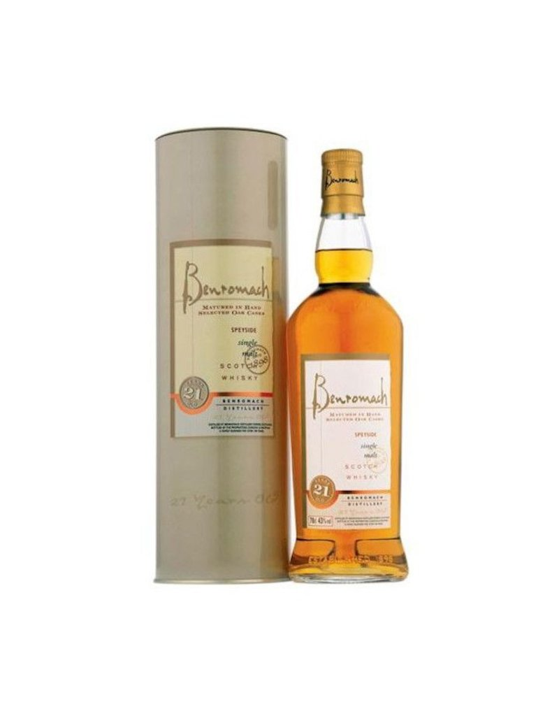 Scotch Benromach 21yr 750ml