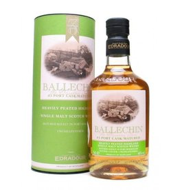 Scotch Ballechin Heavily Peated Highland Port Cask Matured 750ml