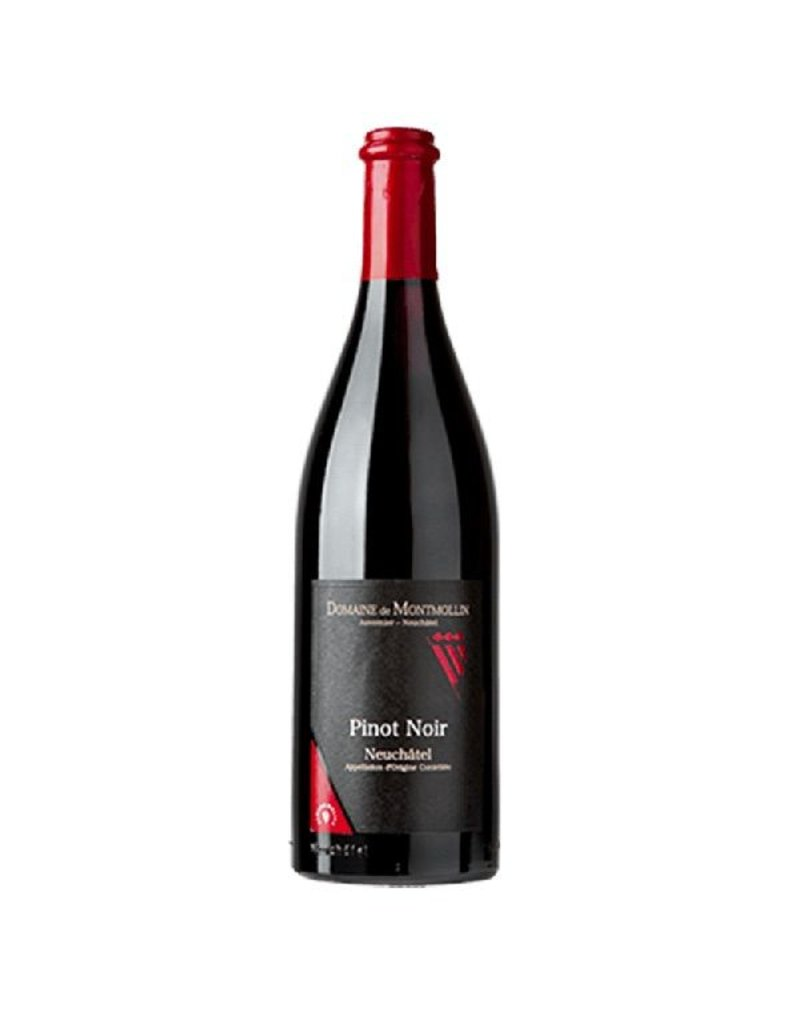 Swiss Wine Domaine de Montmollin Pinot Noir Neuchatel Switzerland 2014 750ml