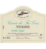 """French Wine Domaine Jacky Preys et Fils """"Cuvée de Fié Gris"""" Touraine Blanc 2014 750ml"""