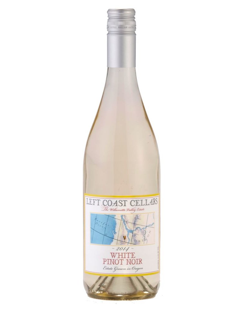 American Wine Left Coast White Pinot Noir Willamette Valley, Oregon 2015 750ml