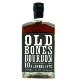 "Bourbon Backbone ""Old Bones"" 10 Year Reserve Bourbon 750ml"