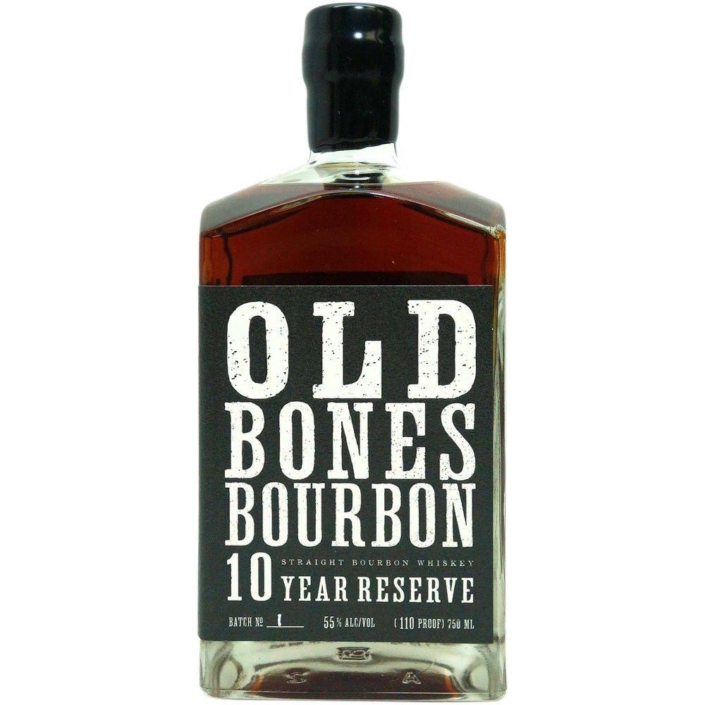 "Bourbon Backbone ""Old Bones"" 10 Year Reserve Bourbon 750ml"