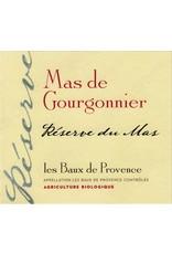 """French Wine Mas du Gourgonnier Les Baux de Provence """"Reserve du Mas"""" 2015 750ml"""