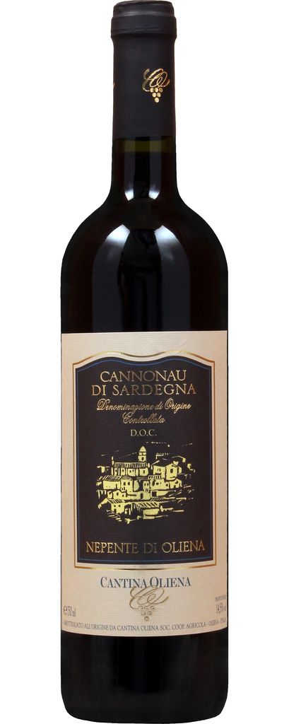 """Italian Wine Cantina Oliena """"Nepente di Oliena"""" Cannonau di Sardegna 2014 750ml"""
