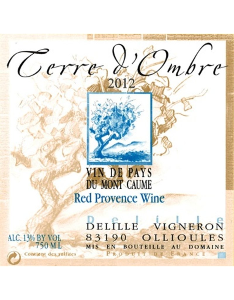 French Wine Terrebrune Terre d'Ombre Rouge 2015 750ml
