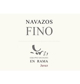 "Sherry Navazos Fino ""Saca of March"" En Rama 2014 375ml"