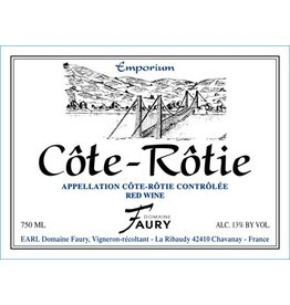 French Wine Domaine Faury Cote Rotie 2011 750ml