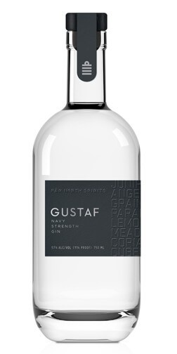 "Gin Far North Spirits ""Gustaf"" Navy Strength Gin 750ml"