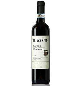 Italian Wine Franco Serra Langhe Nebbiolo 2015 750ml