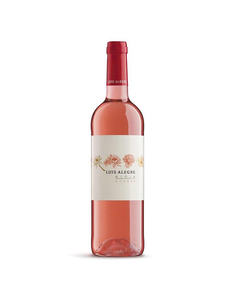 Spanish Wine Luis Alegre Rioja Rosado Flores 2015