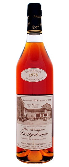 Brandy Dartigalongue 30 Year 1978 Bas Armagnac, Bottled in 2008 750ml
