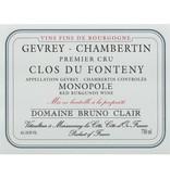 "French Wine Domaine Bruno Clair Gevery-Chambertin ""Clos du Fonteny"" 1er Cru Monopole 2010 750ml"