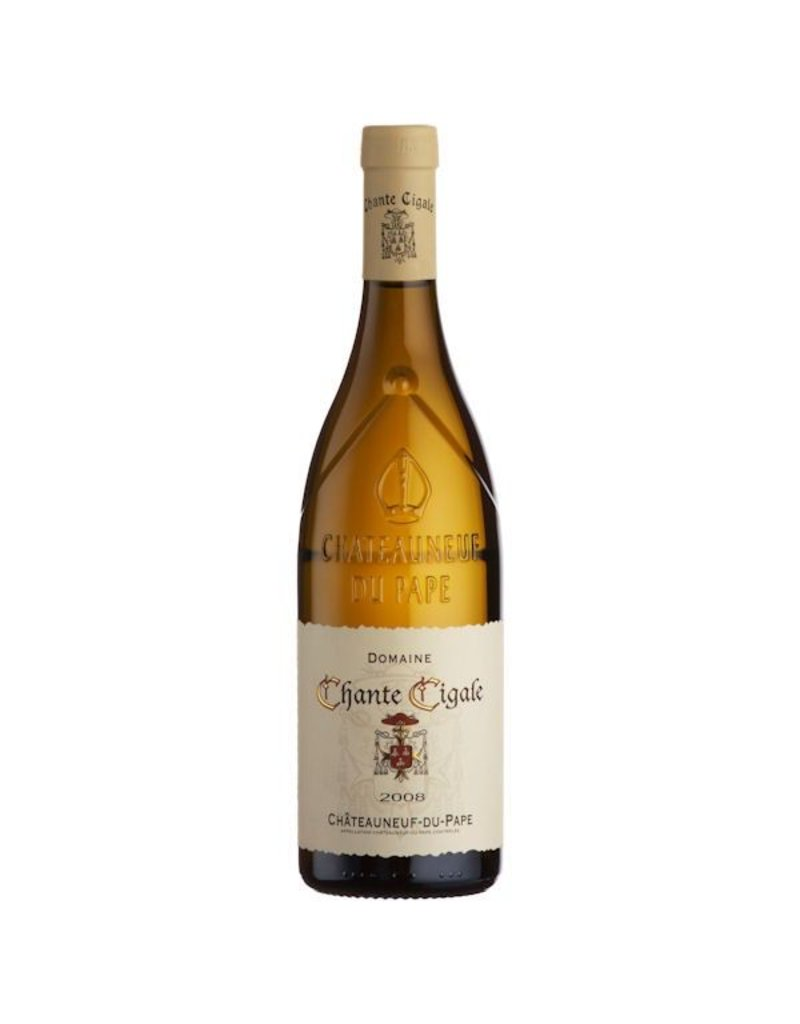 French Wine Domaine Chante Cigale Chateauneuf du Pape Blanc 2015 750ml