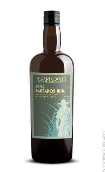 Rum Samaroli Barbados Rum 2000, Bottled in 2016 From Selected Cask No. 57 750ml