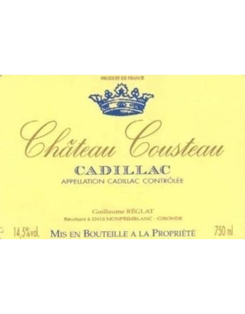 Dessert Wine Chateau Cousteau Cadillac 2012 750ml