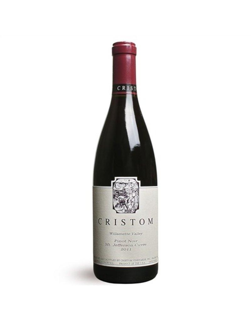 """American Wine Cristom """"Mount Jefferson Cuvée"""" Pinot Noir Willamette Valley Oregon  2014 750ml"""