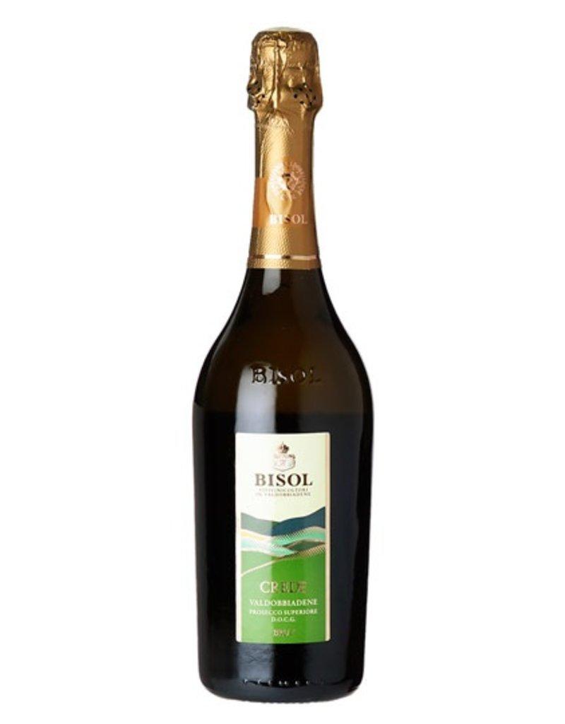"""Italian Wine Bisol """"Crede"""" Prosecco Valdobbiadene DOCG Brut 750ml"""